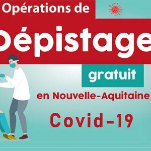 Prolongation des dépistages COVID-19 gratuits à Saint-Pierre d'Oléron