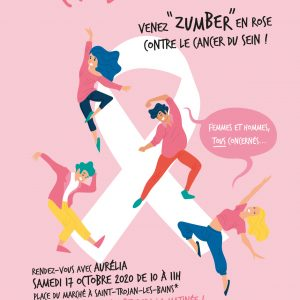 Octobre Rose, venez Zumber en rose contre le cancer du sein