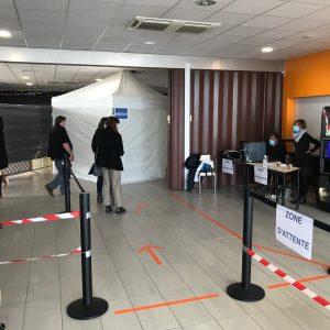 Centre oléronais de vaccination : premières injections !