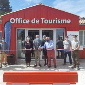 L'Office de tourisme à Saint-Trojan-Les-Bains fait peau neuve pour la saison !